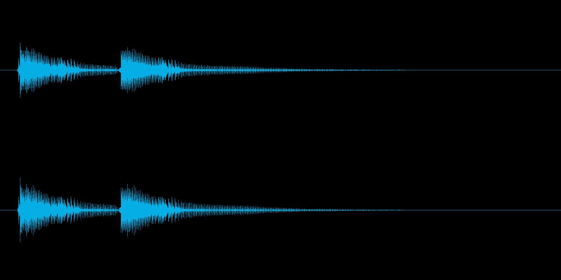春ボインの再生済みの波形