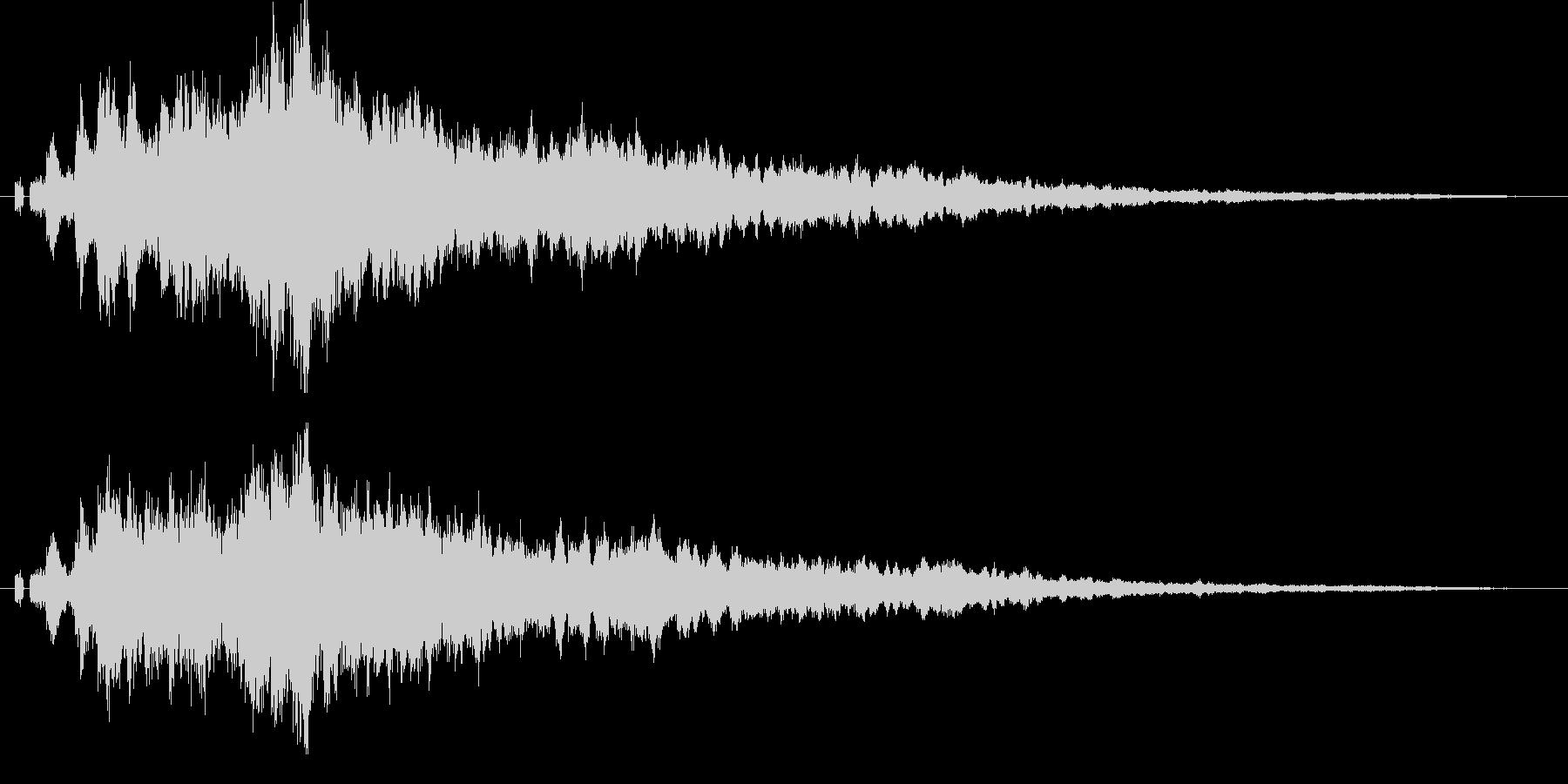 【キラキラ01】光や天使に最適な効果音!の未再生の波形