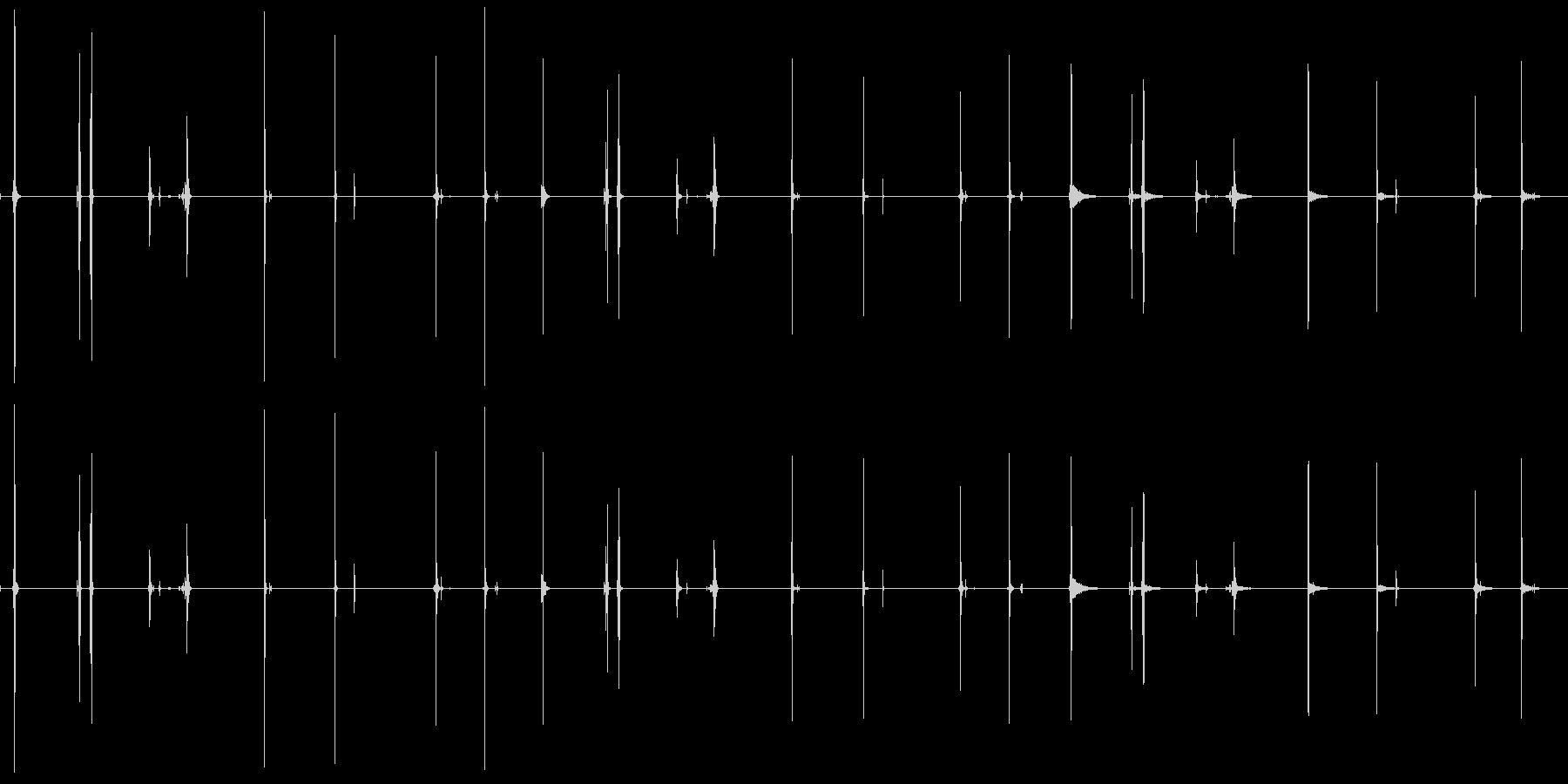 壁スイッチ、9バージョンX 3ルー...の未再生の波形