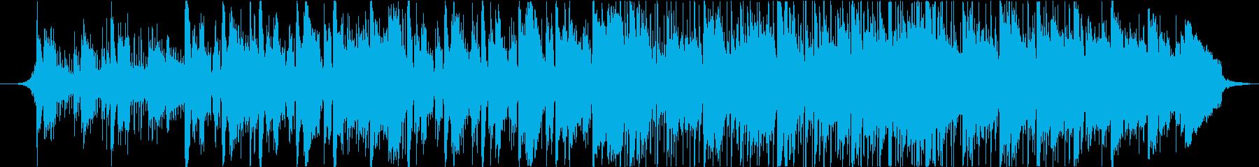優しく穏やかでリズミカルなBGMの再生済みの波形