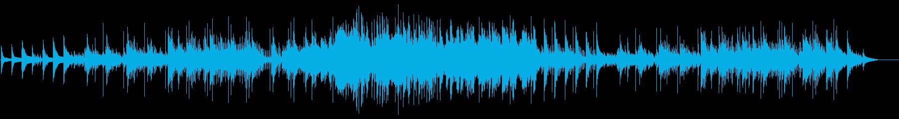 和服での入場を想定したオリエンタルBGMの再生済みの波形