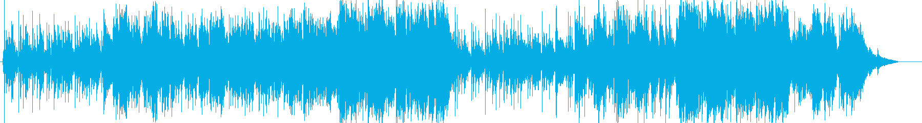 バイオリンのマリン風ミディアムテンポ曲の再生済みの波形
