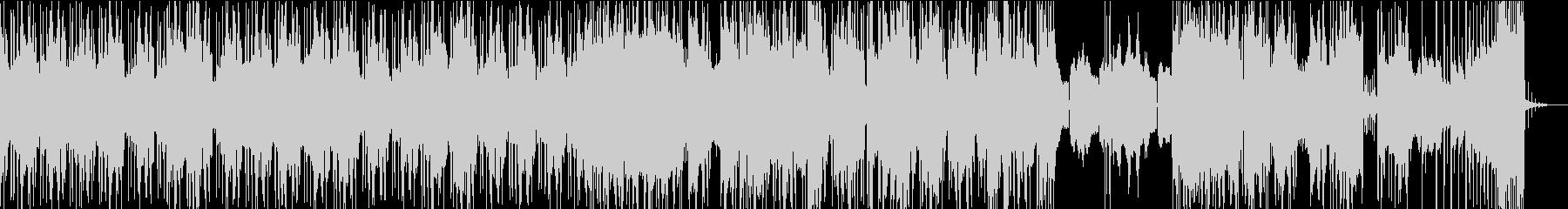クール エレクトロ シティポップの未再生の波形