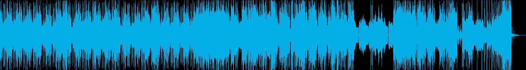 クール エレクトロ シティポップの再生済みの波形