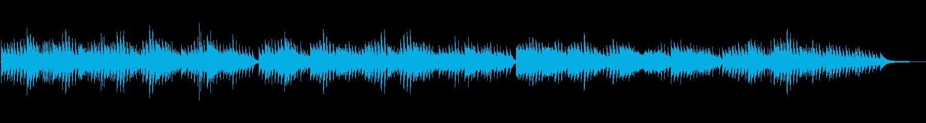成功栄光系感動ピアノオリンピックスポーツの再生済みの波形