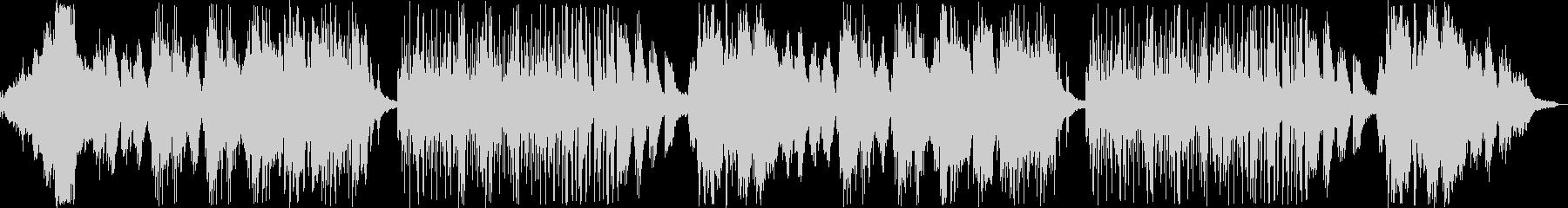 幻想的なメロディのバラードの未再生の波形