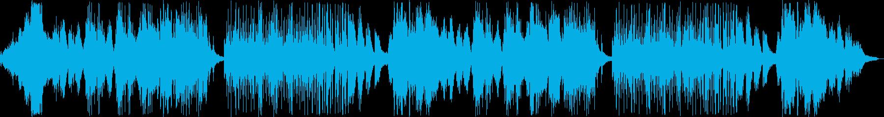 幻想的なメロディのバラードの再生済みの波形