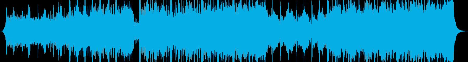 Orchestral musicの再生済みの波形