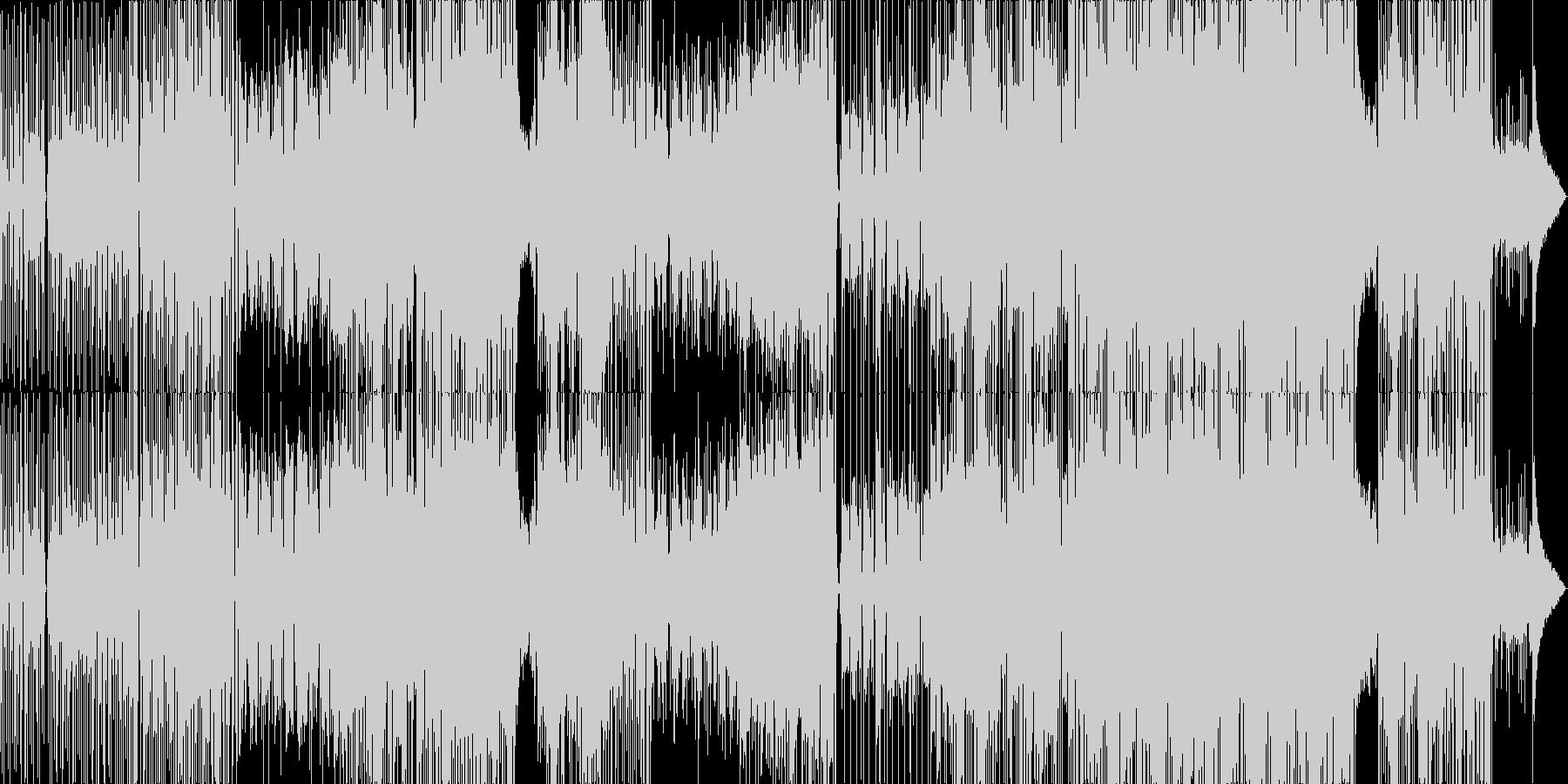 孤独感や切なさの中に温かみのあるバラードの未再生の波形