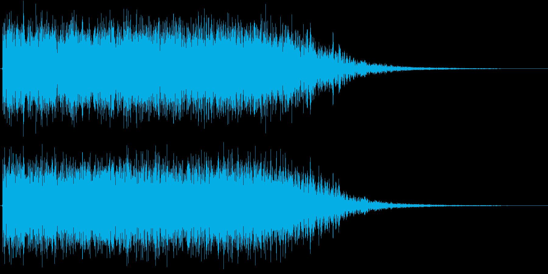 気体系モンスター・魔法の再生済みの波形