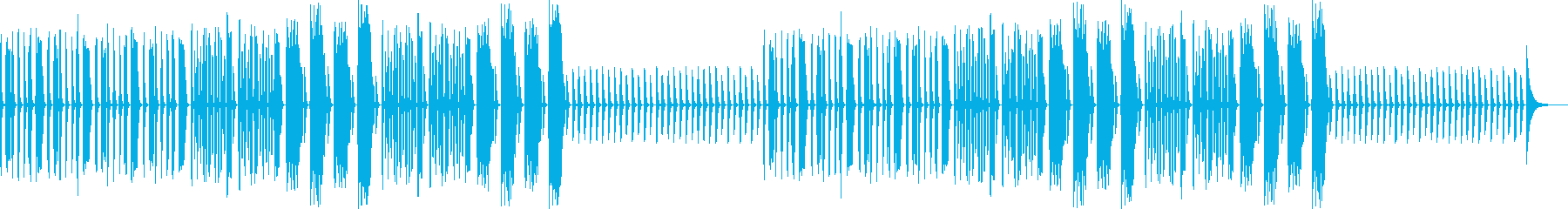 ポンコツ・コミカル・へっぽこ・リコーダーの再生済みの波形