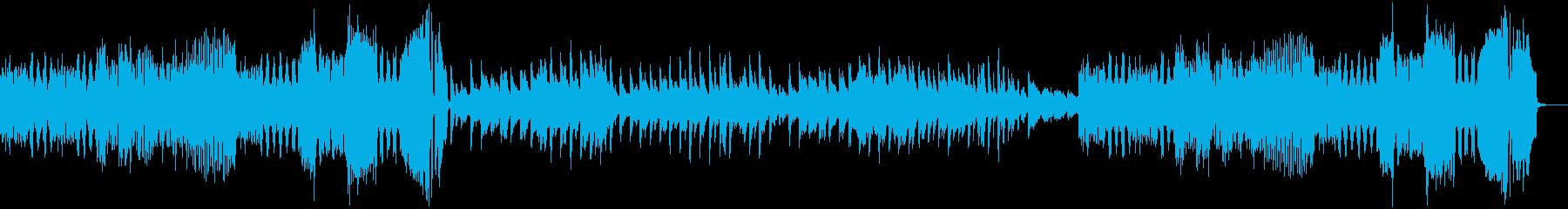 チャイコフスキー四季より8月収穫の歌の再生済みの波形