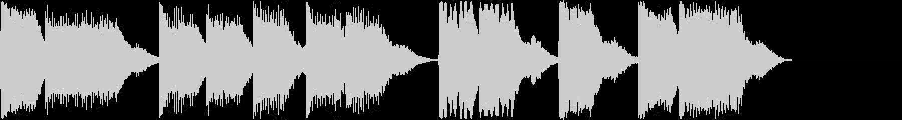 AI メカ/ロボ/マシン動作音 7の未再生の波形