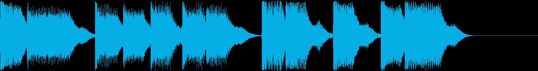 AI メカ/ロボ/マシン動作音 7の再生済みの波形