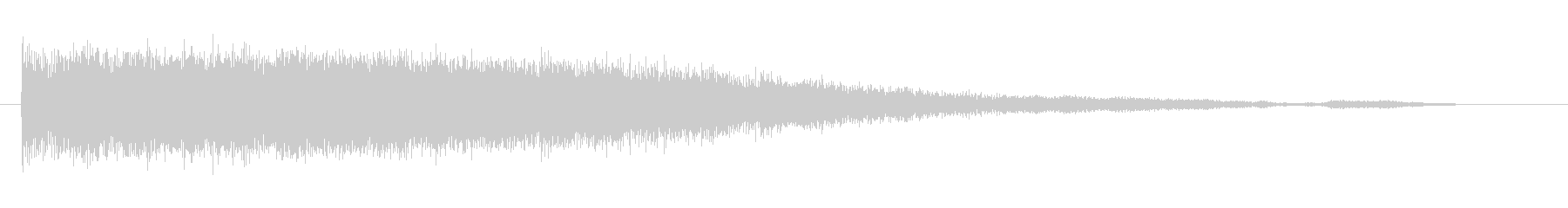 素材 ビットスライスシンセ02の未再生の波形
