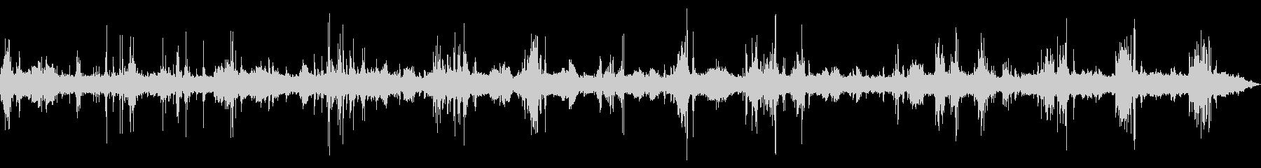 [生録音]工事現場01(大型重機)の未再生の波形