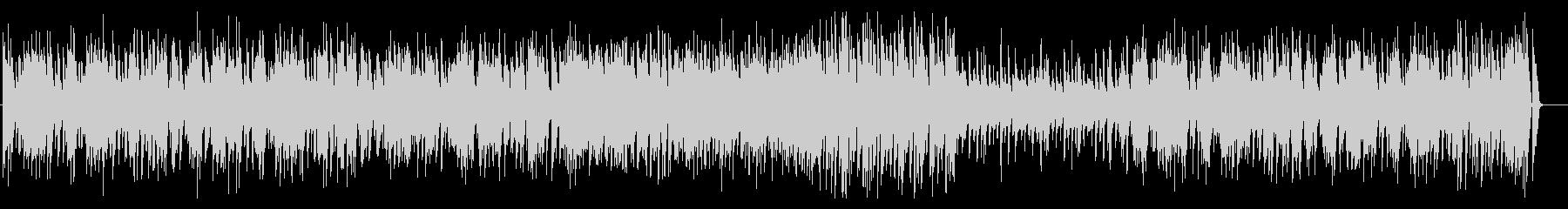 ピアノとベースのデュオの軽快なジャズの未再生の波形