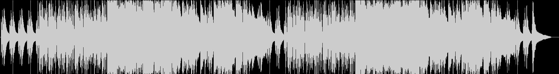 ピアノとサックスがおしゃれなBGMの未再生の波形