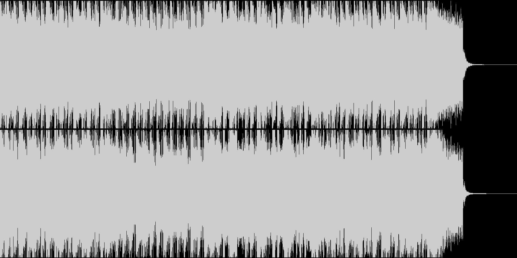 アラビアンでパーカッシブなBGMの未再生の波形