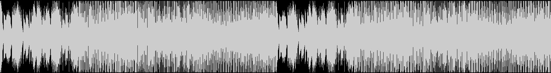 可愛いエレクトリックなループ仕様の曲の未再生の波形