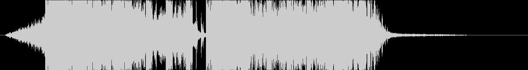 DUBSTEP クール ジングル166の未再生の波形