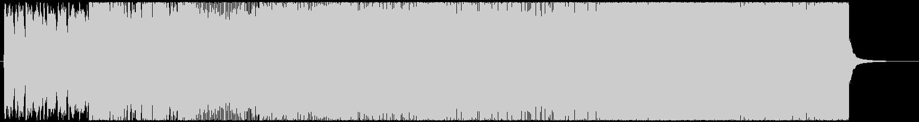 民族調のヘヴィメタルインストゥルメンタルの未再生の波形