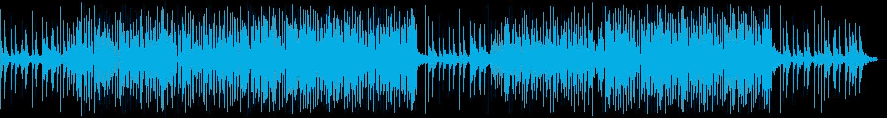 メロウで物憂げなピアノ、チルホップの再生済みの波形