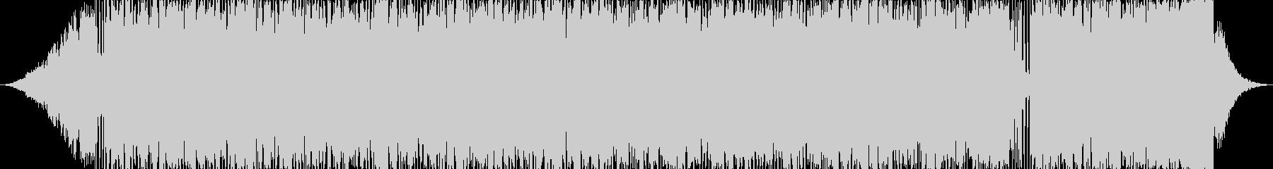 エレクトロニック 説明的 静か エ...の未再生の波形