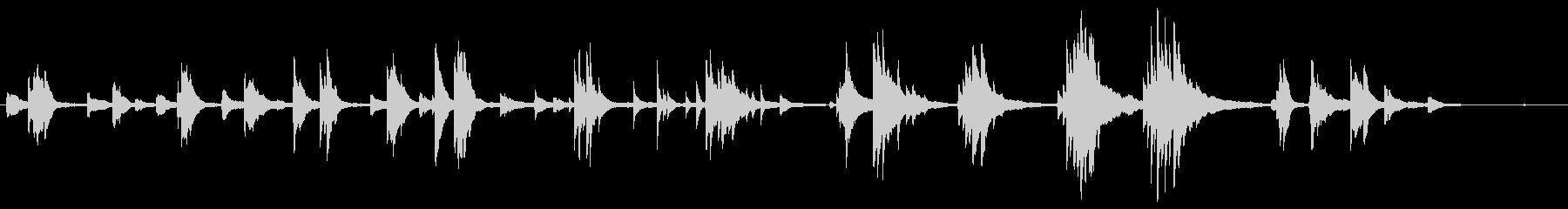 結婚式や 泣かせる映像に ■ ピアノソロの未再生の波形