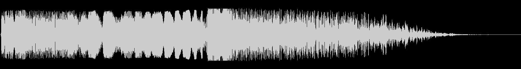 ワープ突入(ドゥーーン、ブシューン)の未再生の波形