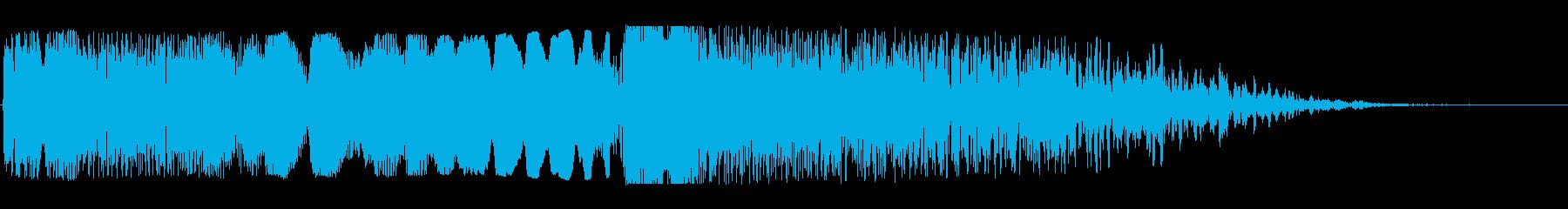 ワープ突入(ドゥーーン、ブシューン)の再生済みの波形
