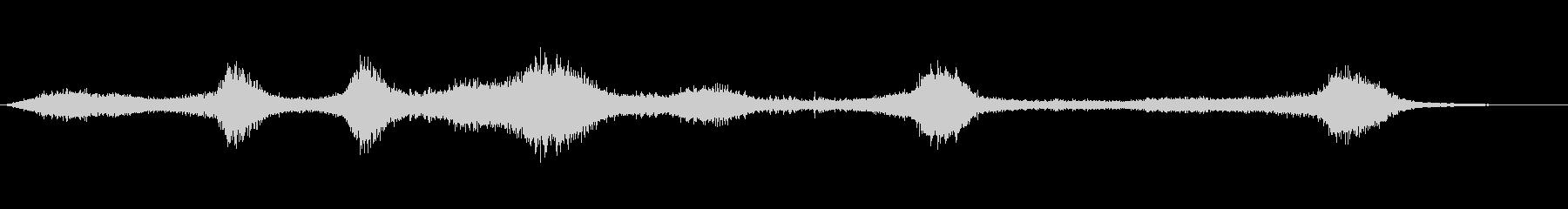 【生録音】 早朝の街 交通 環境音 14の未再生の波形