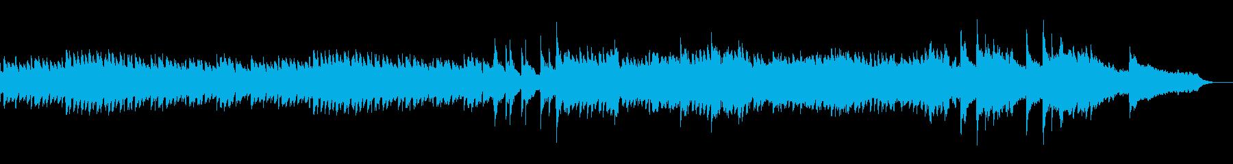 何かの始まりを予感させるピアノBGMの再生済みの波形