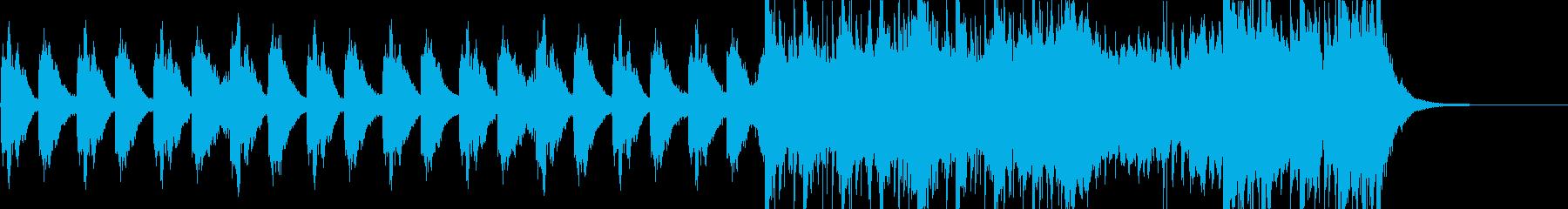 OPのような始まりを感じるオーケストラの再生済みの波形
