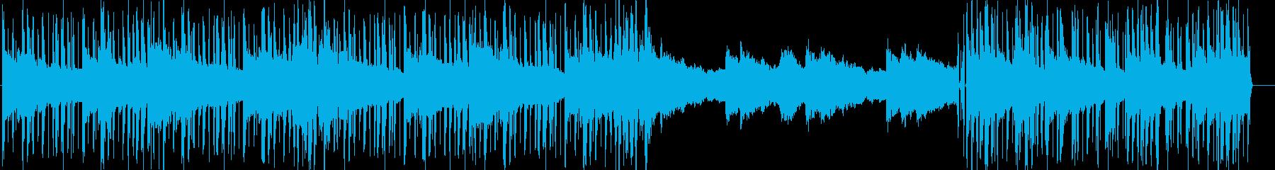 雰囲気のあるLo-fi HipHopの再生済みの波形