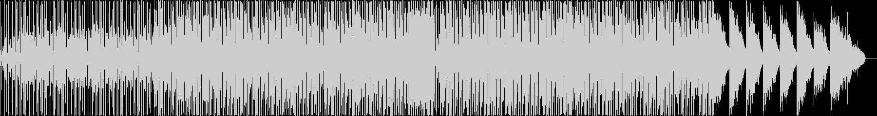 軽快でほのぼのと可愛い雰囲気のBGMの未再生の波形