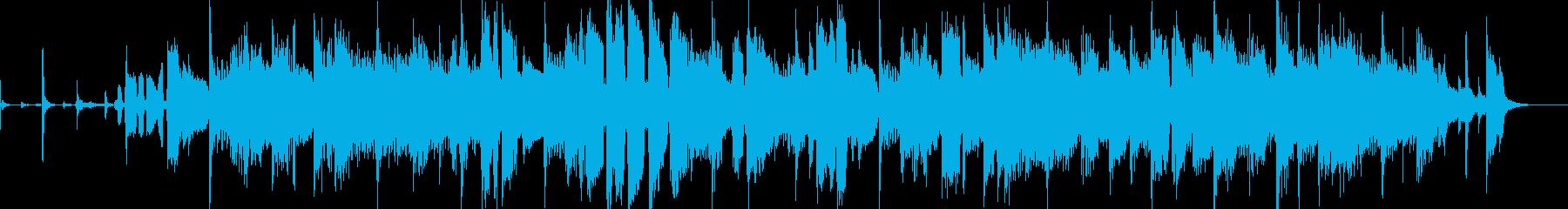 女性ボーカルの落ち着いた切ない秋ポップスの再生済みの波形