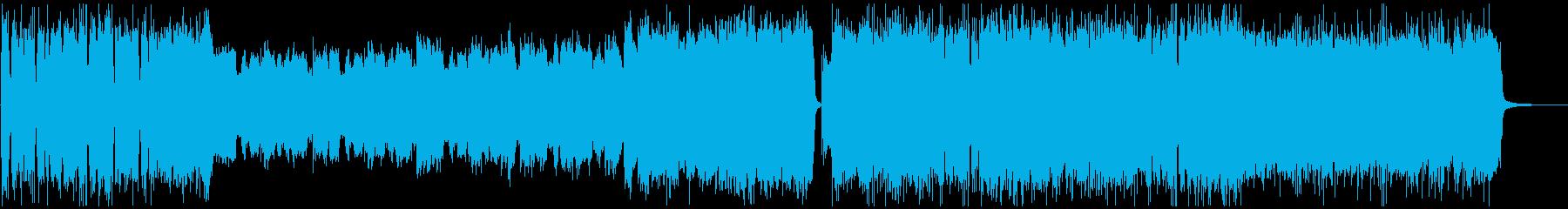 尺八と筝のヘヴィメタルの再生済みの波形