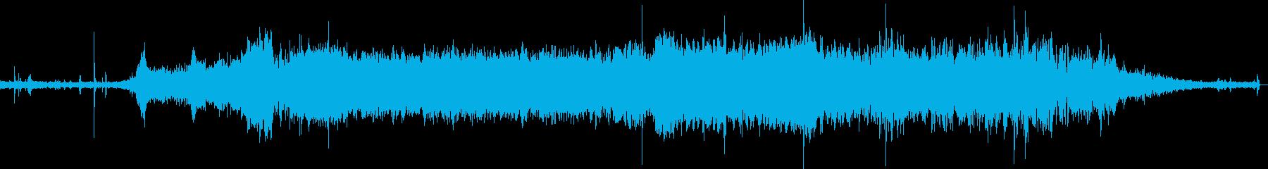 電気自動車インテリア加速、常時、減...の再生済みの波形
