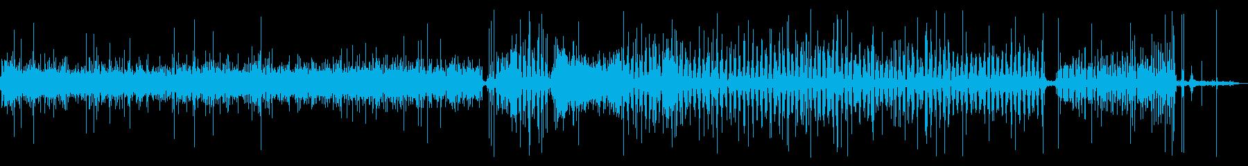【生活音】洗濯機 (注水・すすぎ)の再生済みの波形