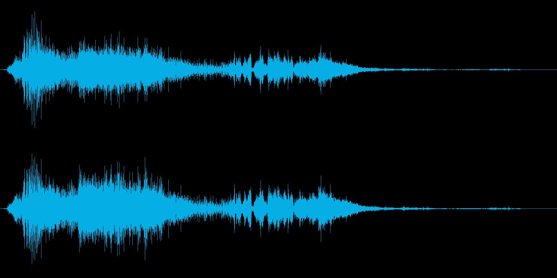 花火紡績の再生済みの波形