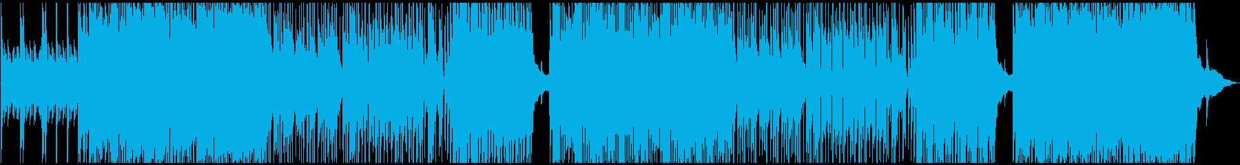 かっこいいピアノトリオのポップジャズの再生済みの波形