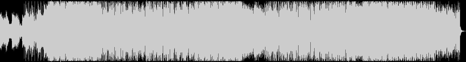 電子機器を使用した透明感のある曲の未再生の波形
