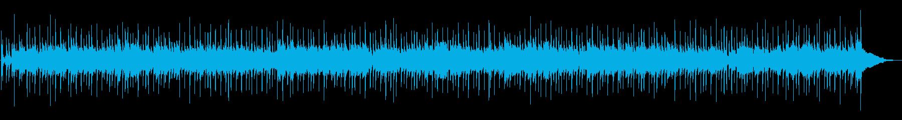 アコギのストロークが爽やかなBGMの再生済みの波形