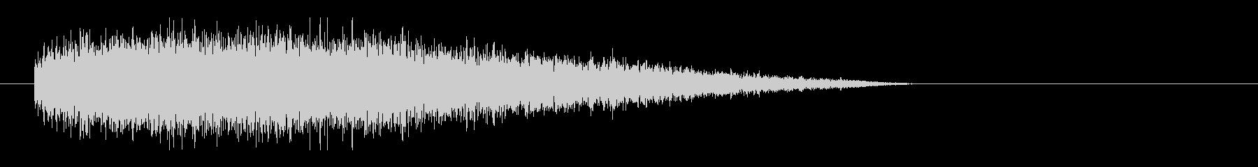 レーザー音-78-3の未再生の波形