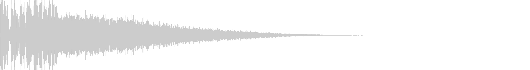 FMラジオジングル制作にピッタリな音の未再生の波形