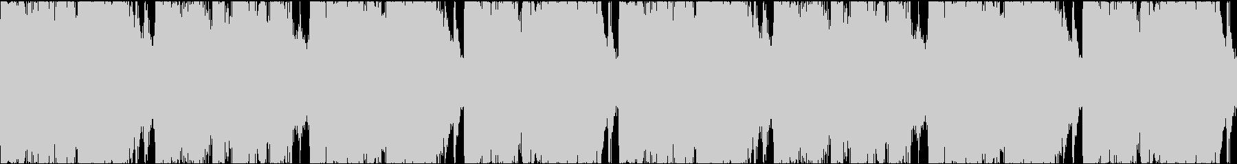 明るいBGMループの未再生の波形