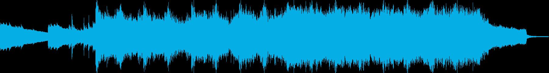 現代の交響曲 素晴らしい 心に強く...の再生済みの波形