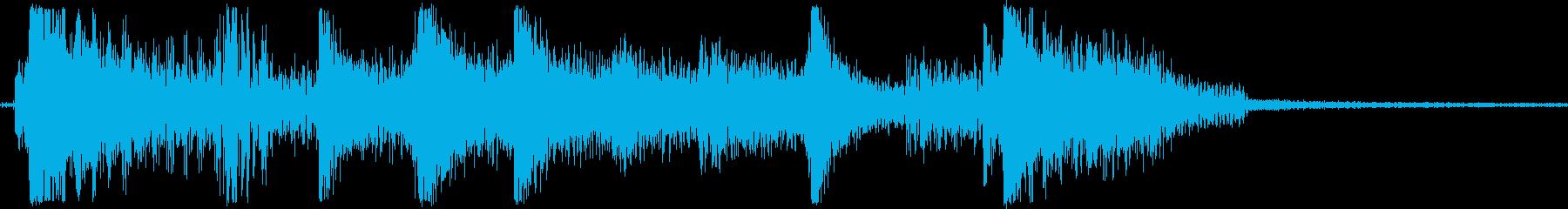 エレクトリックベース、クリーンなス...の再生済みの波形