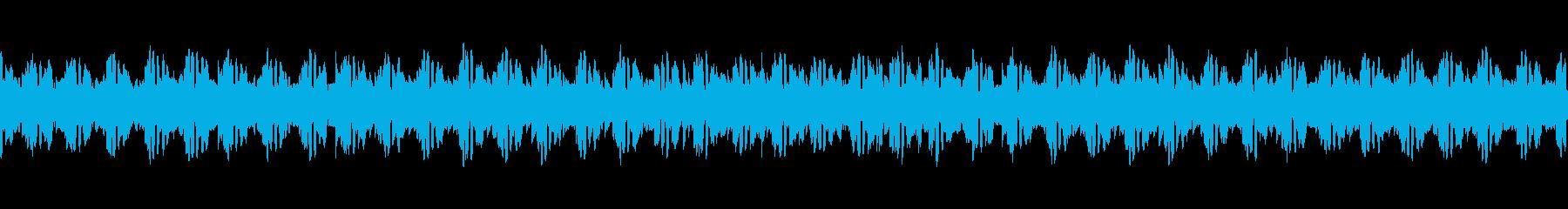 ニュース映像などに合う淡々としたマリンバの再生済みの波形